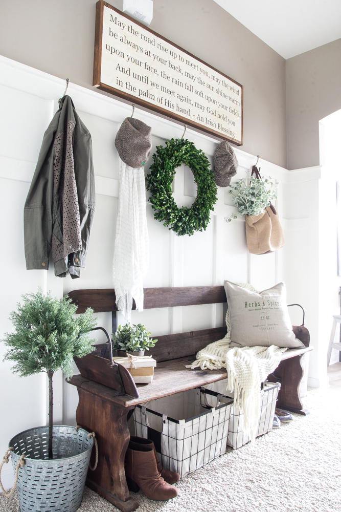 Organize Your Mudroom Furniture 5 Tips For Organizing Your Entryway
